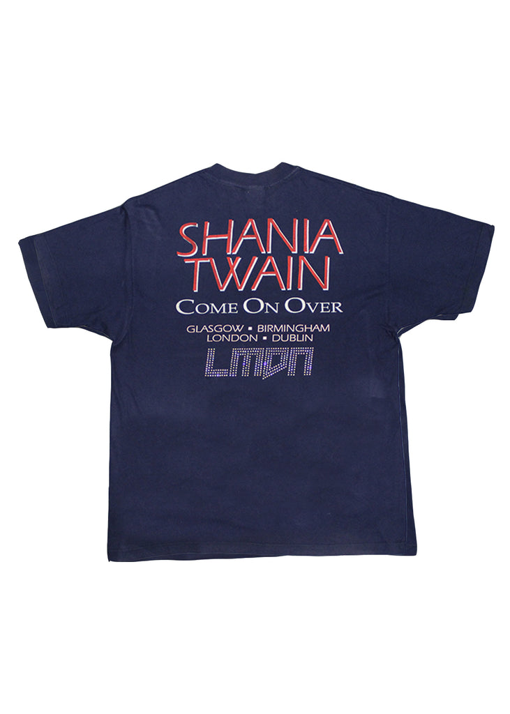 Vintage VVS T-Shirt - Shania Twain Come On Over Tour 1998