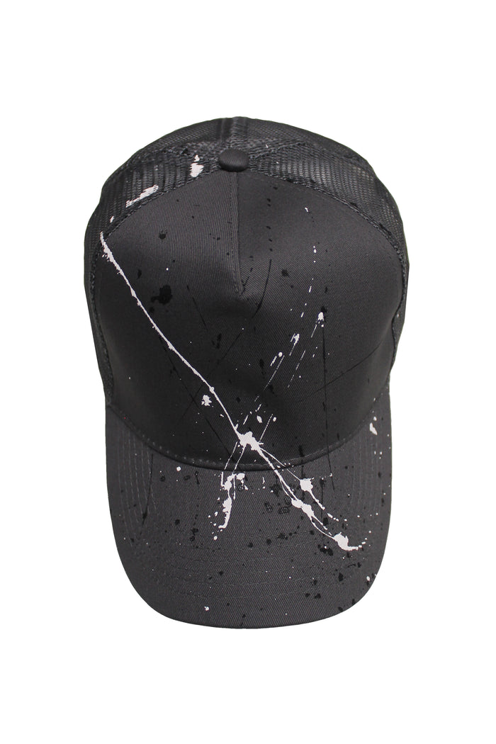 Splatter Trucker Cap - Graphite