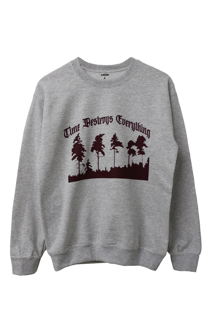 Destruction Sweater - Heather Grey