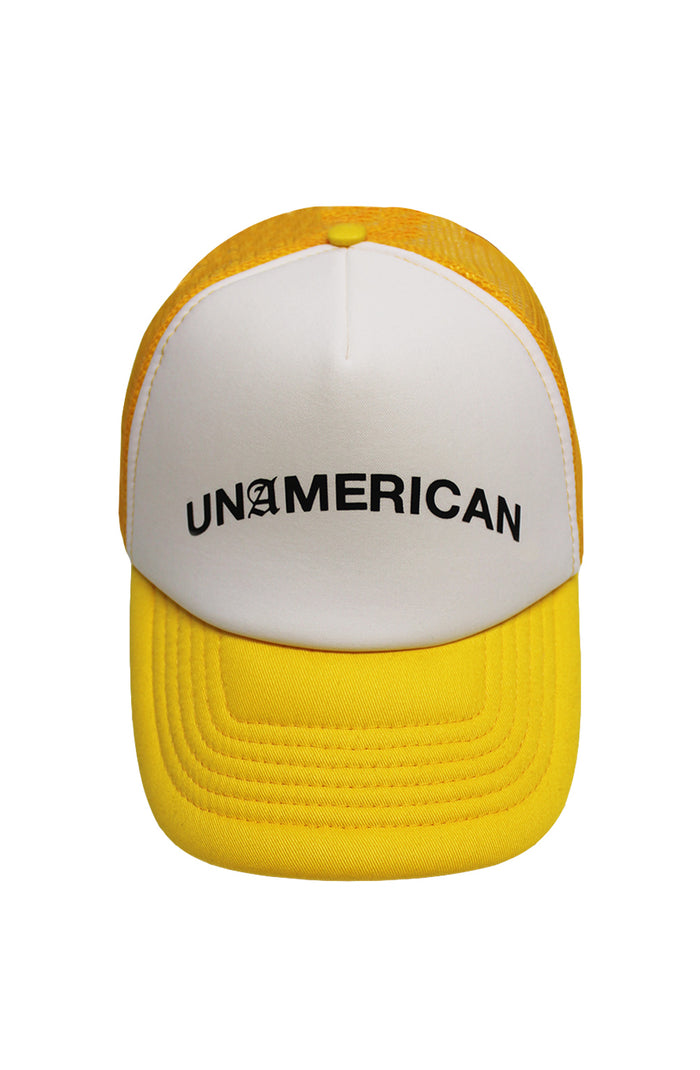 Unamerican Trucker Cap - Yellow