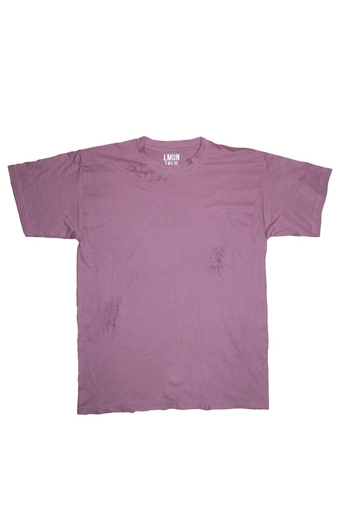 Distressed T-Shirt - Violet