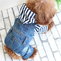Denim Pet Outfit