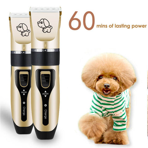 Image of Professional Rechargeable Pet Trimmer