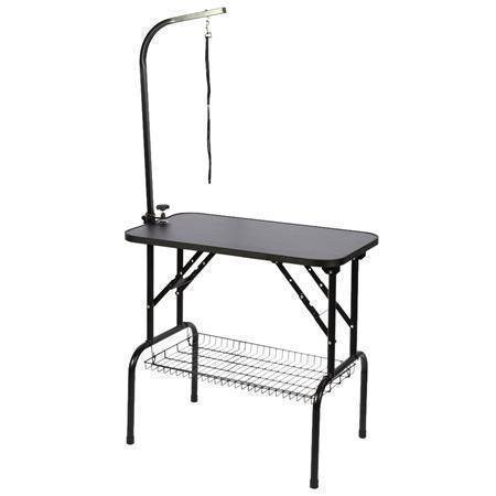 Dog Grooming Table - Stainless Steel Small Pet Grooming Table