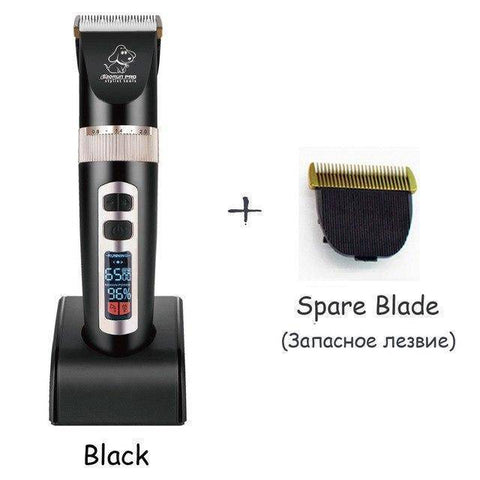 Image of Grooming - Professional LCD Screen Pet Trimmer