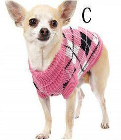 Image of Knitted Dog Sweater - Super Cute Knitted Dog Sweaters