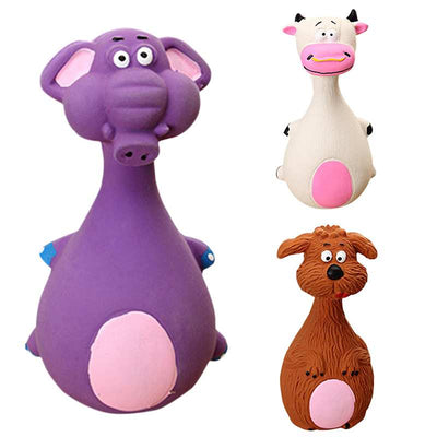 Animal Shape Dog Squeaker Toys