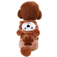 Pet clothes Cute Bear