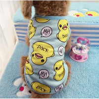 Printed Cotton Pet T-shirt