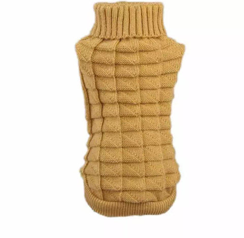 Image of Turtleneck Dog Sweater - Turtleneck Pet Sweater