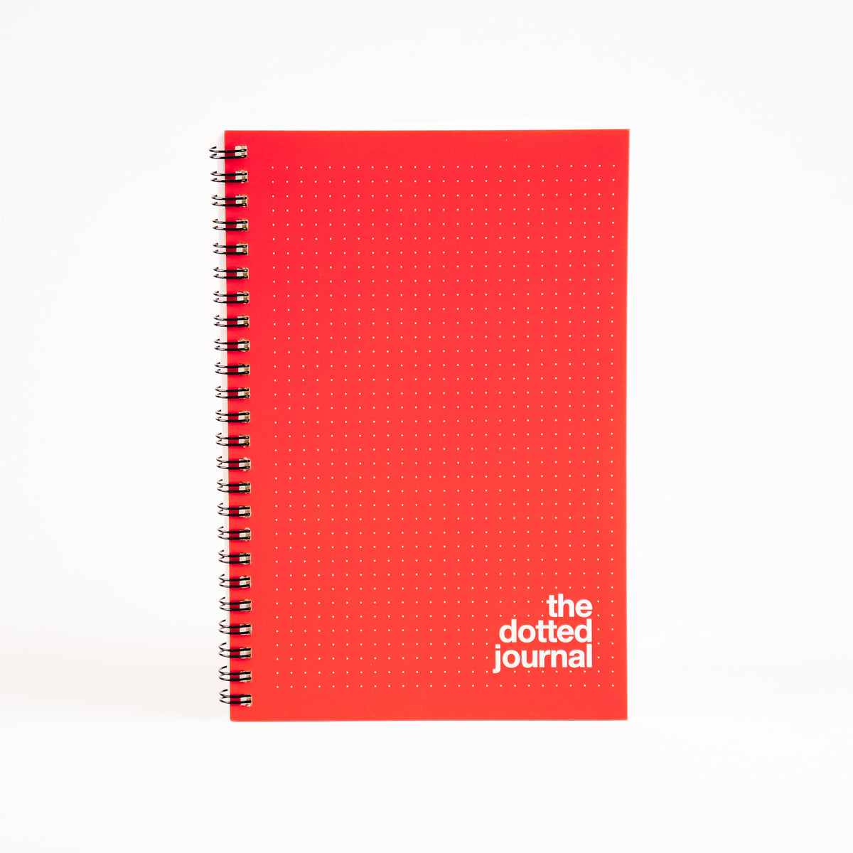 Red Dotted Journal By LetterNote