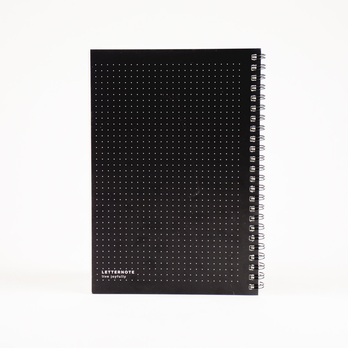 Black Dotted Journal By LetterNote
