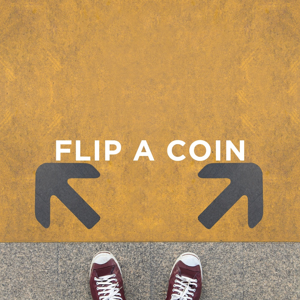 The LetterNote Manifesto #23 — Flip A Coin