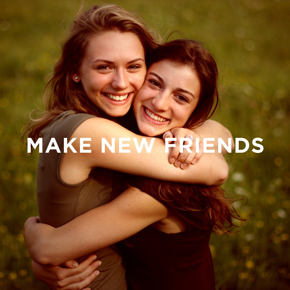 The LetterNote Manifesto #26 — Make New Friends