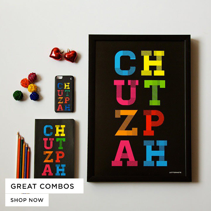 Discover a great collection of product combos that are curated with love and joy. Buy Spiral Notebooks, Phone Cover, Framed Art, shot glasses and other exciting stuff in India at the LetterNote Online Store