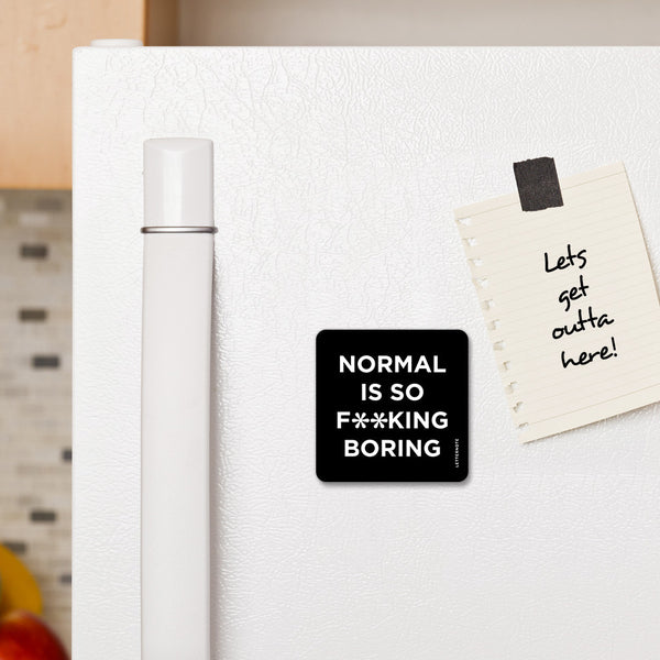 Normal - Fridge Magnet - LetterNote - 2