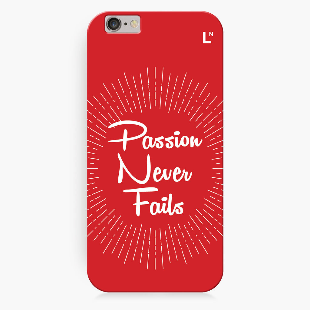 Passion iPhone 6/6S/6 plus/6s plus Cover