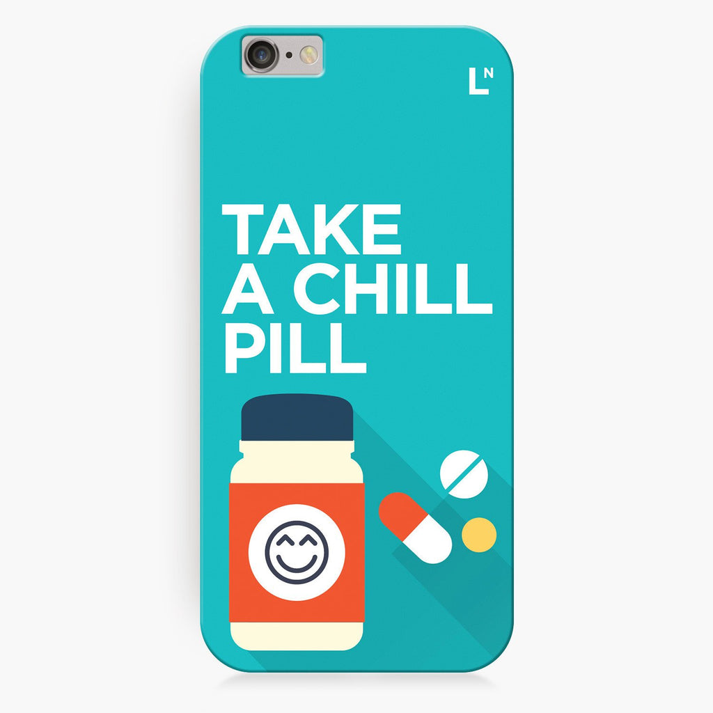 Take a Chill Pill iPhone 8/8 plus Cover