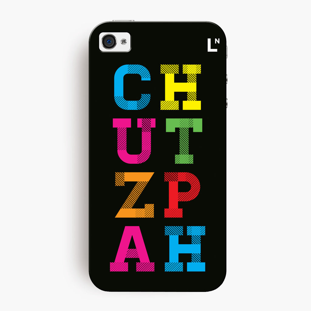 Chutzpah iPhone 4/4s Cover