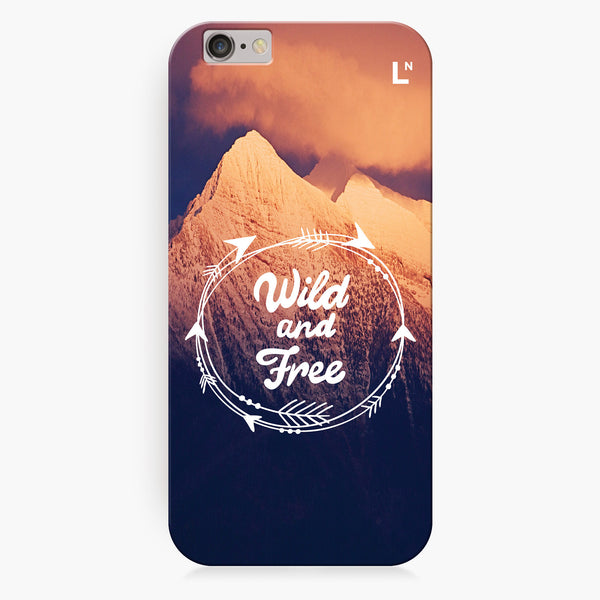 Wild and Free iPhone 6/6S/6 plus/6s plus Cover
