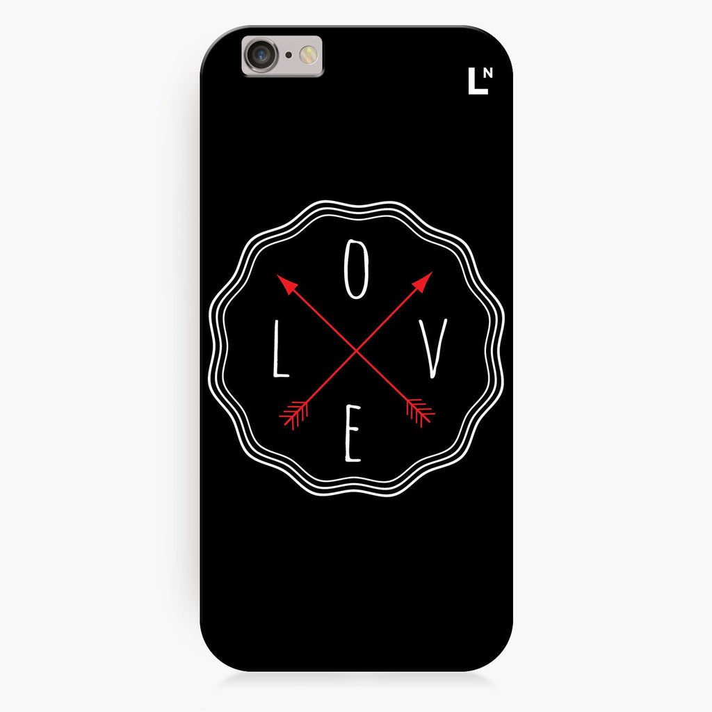 Love in All Directions iPhone 8/8 plus Cover