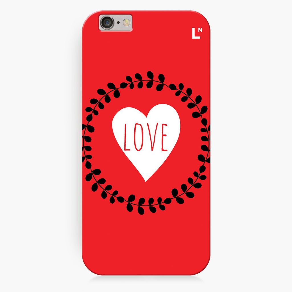 Love Flowers iPhone 8/8 plus Cover