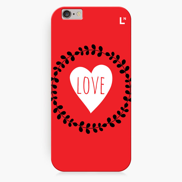 Love Flowers iPhone 6/6S/6 plus/6s plus Cover