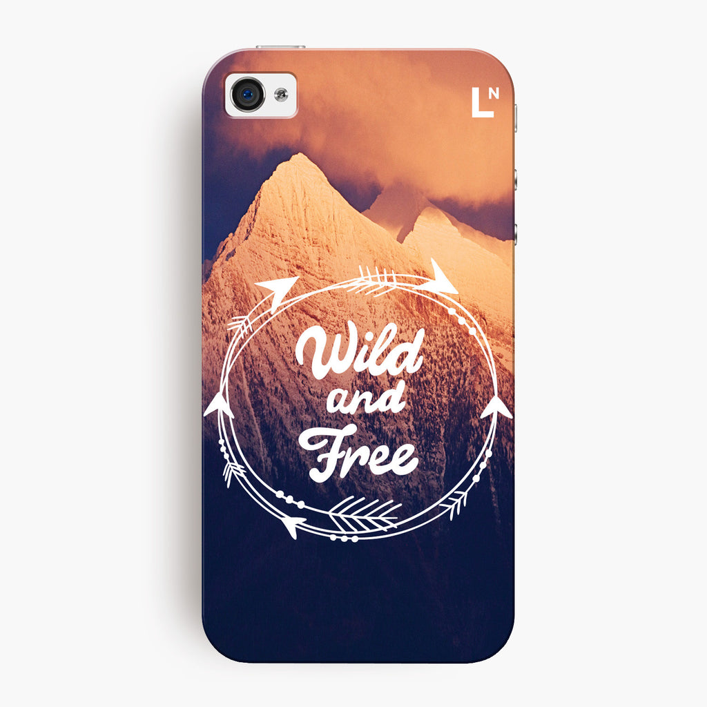 Wild and Free iPhone 4/4s Cover