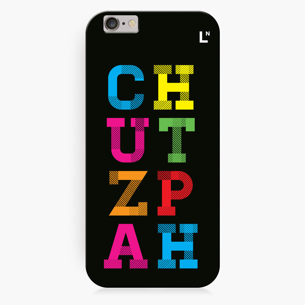 Chutzpah iPhone 7/7 plus Cover