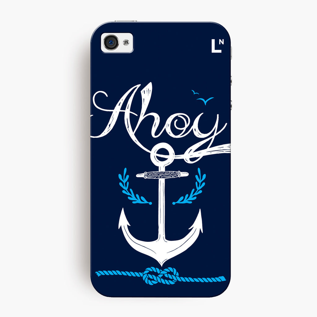 Ahoy iPhone 4/4s Cover