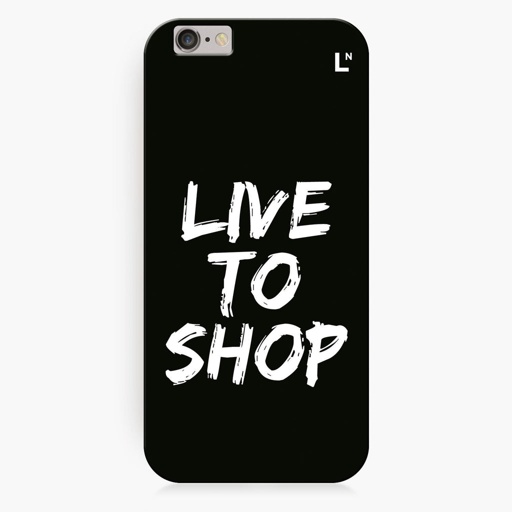 Live to shop iPhone 8/8 plus Cover