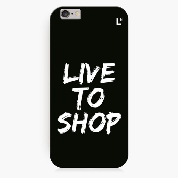 Live to shop iPhone 7/7 plus Cover