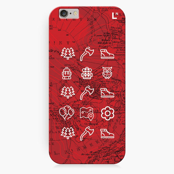 Adventure Icons iPhone 8/8 plus Cover