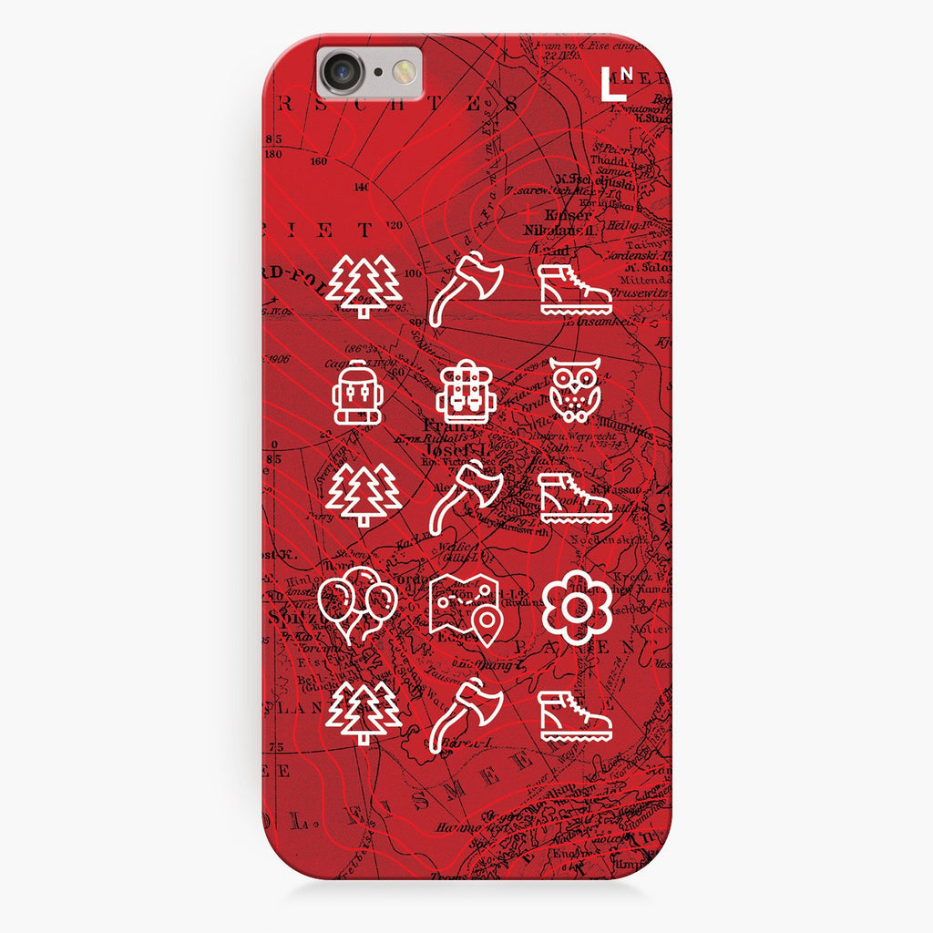 Adventure Icons iPhone 6/6S/6 plus/6s plus Cover