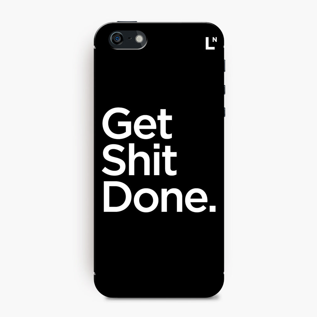 Get Shit Done iPhone 5/5s/5c/SE Cover