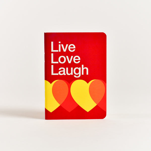 Live Love Laugh Pocket Notebook (A6 Size)