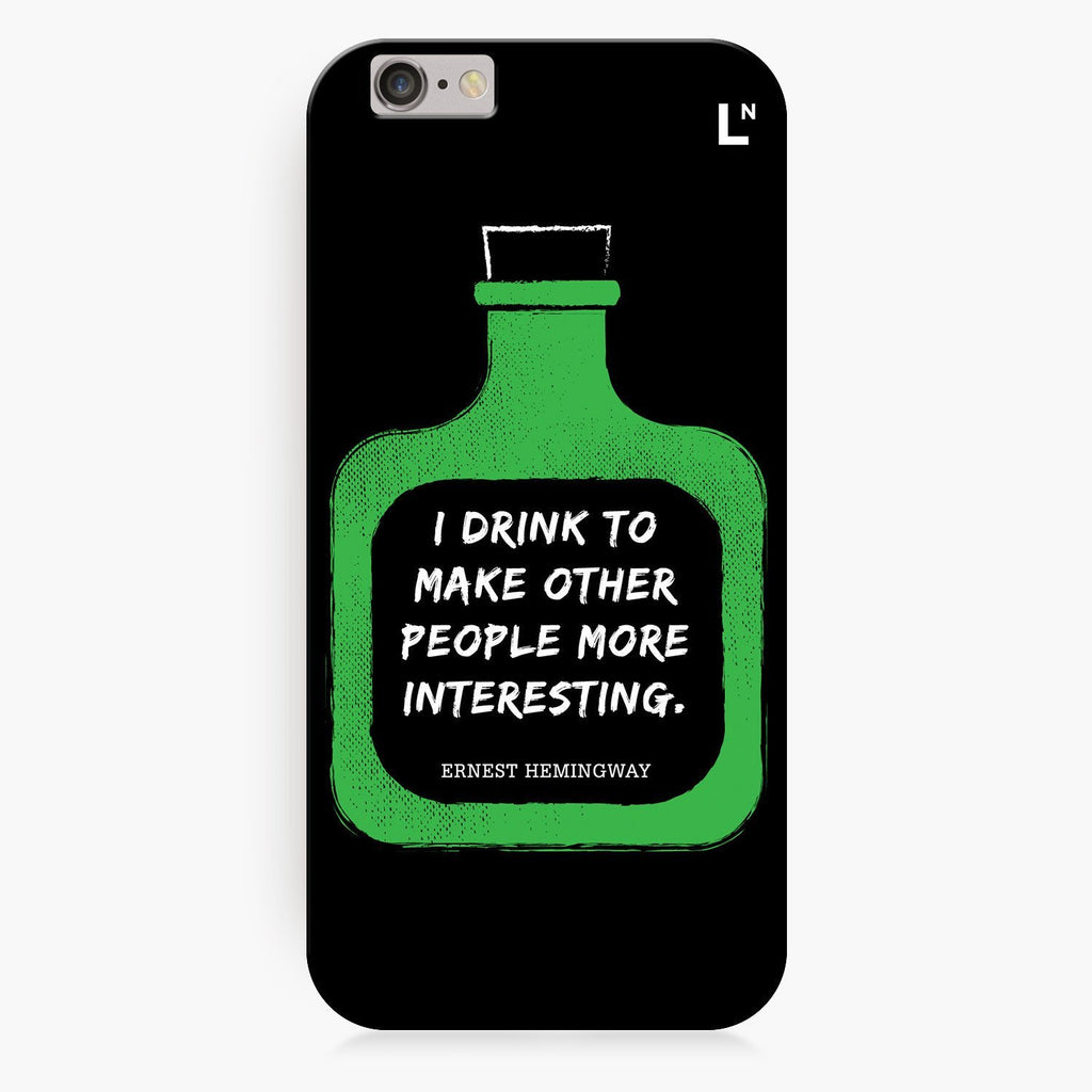Drunk Wisdom iPhone 8/8 plus Cover