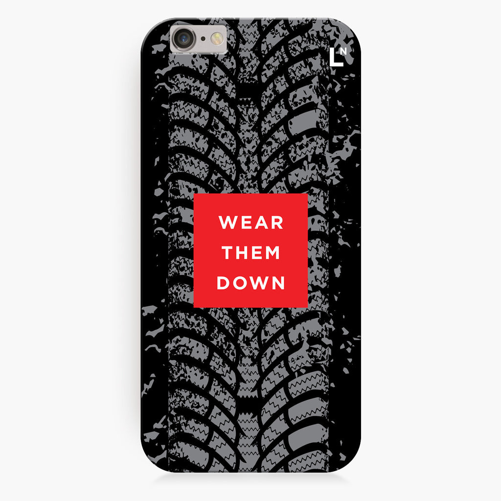 Wear Them Down iPhone 7/7 plus Cover