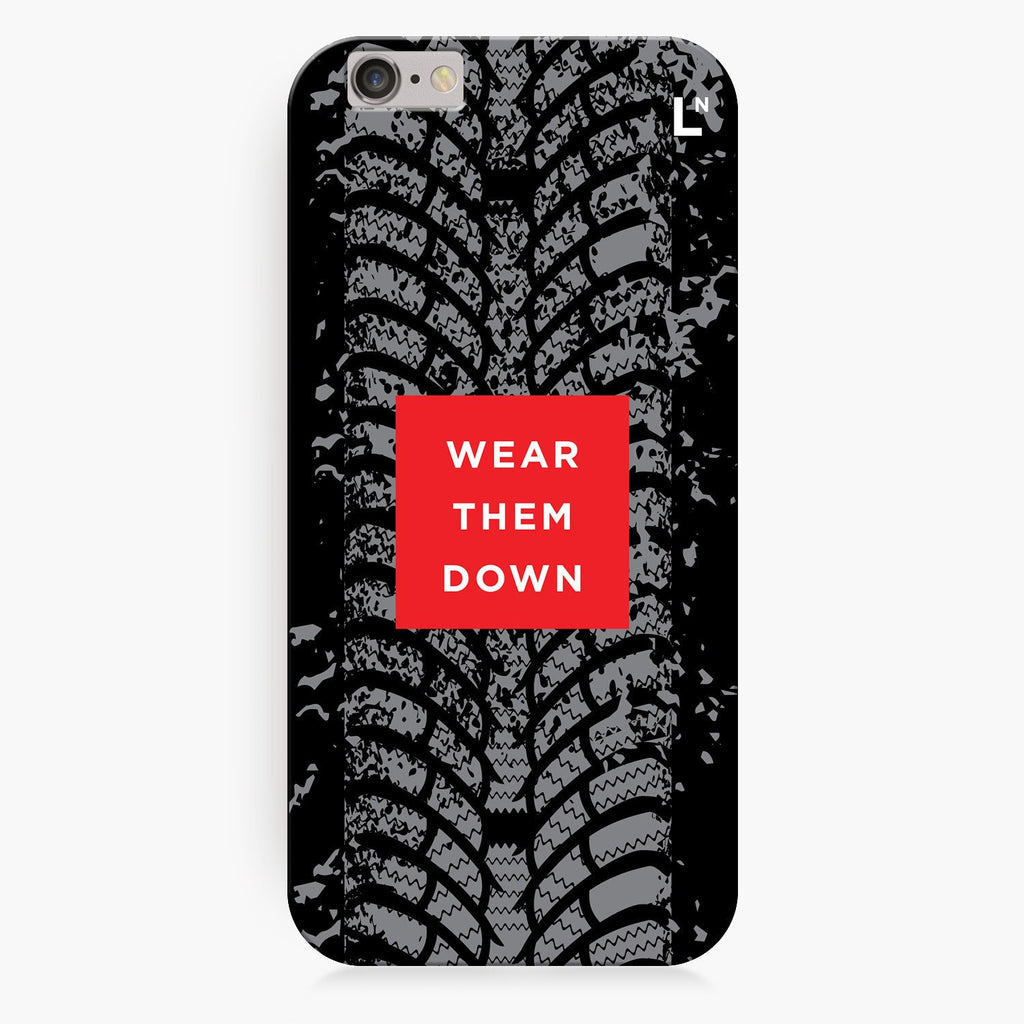 Wear Them Down iPhone 8/8 plus Cover