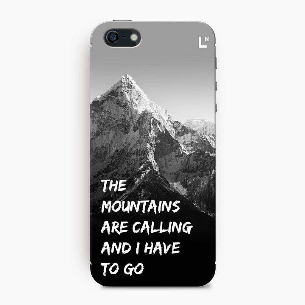 Mountains Are Calling iPhone 5/5s/5c/SE Cover
