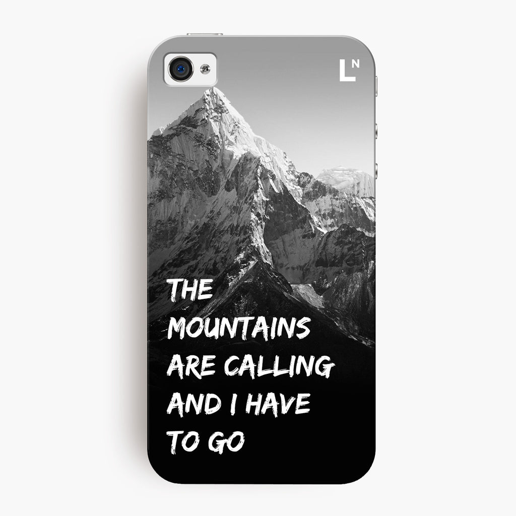 Mountains Are Calling iPhone 4/4s Cover