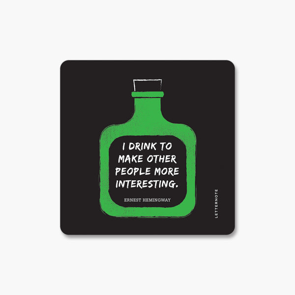 Drunk Wisdom - Fridge Magnet