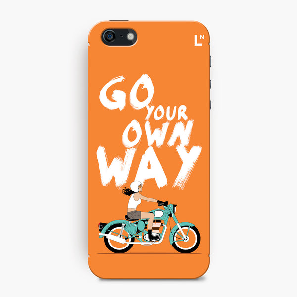Go Your Own Way iPhone 5/5s/5c/SE Cover