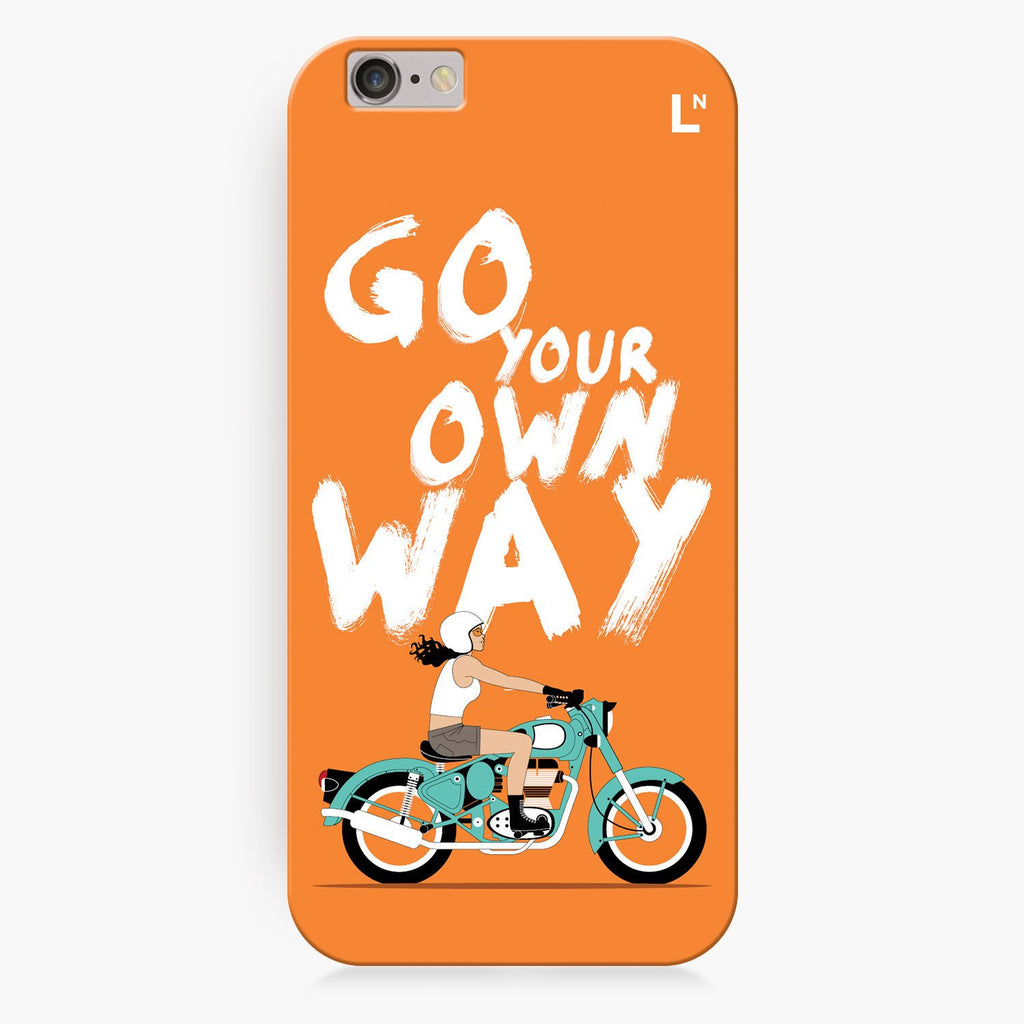 Go Your Own Way iPhone 8/8 plus Cover