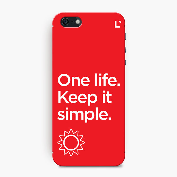 One Life iPhone 5/5s/5c/SE Cover