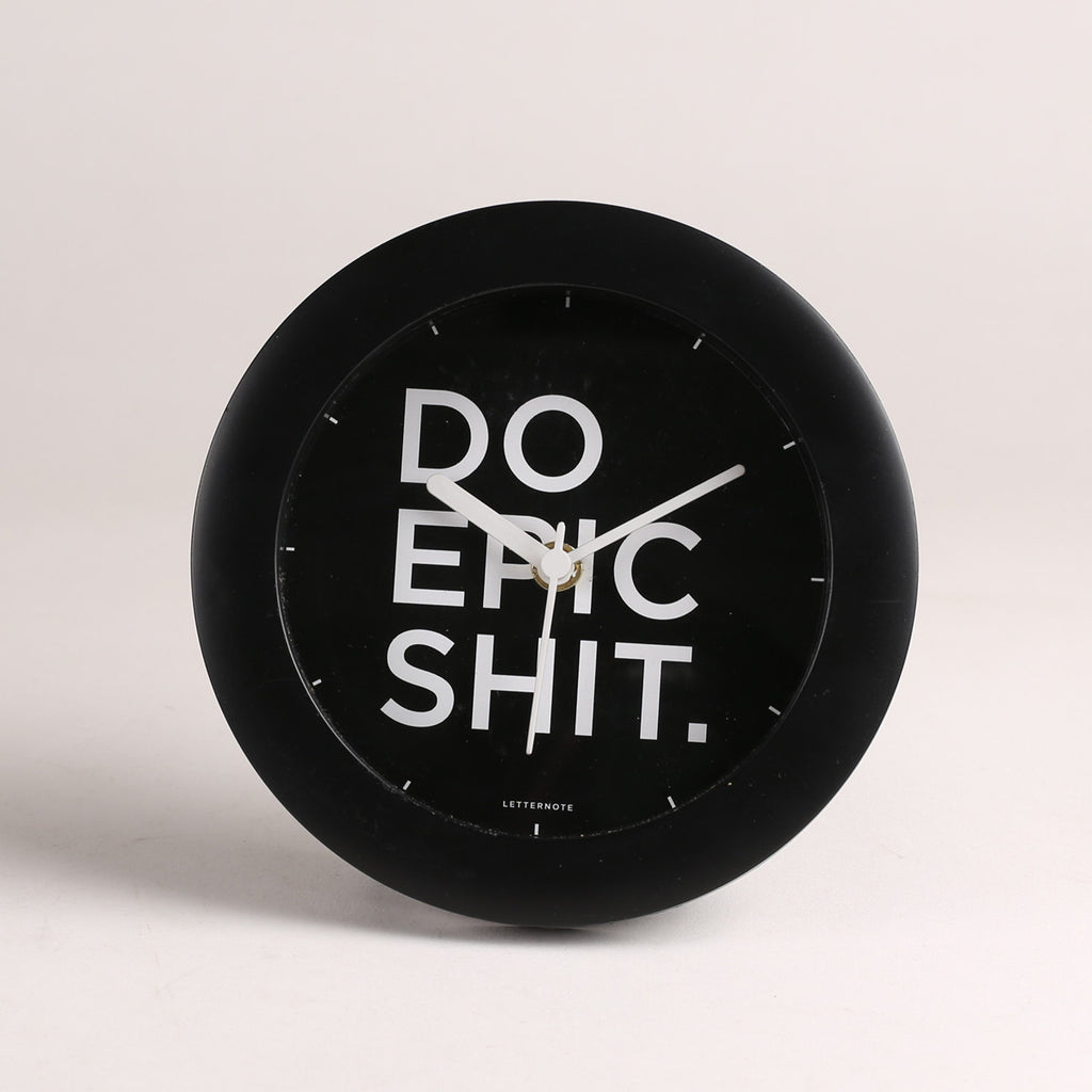 Do Epic Shit - Small Clock
