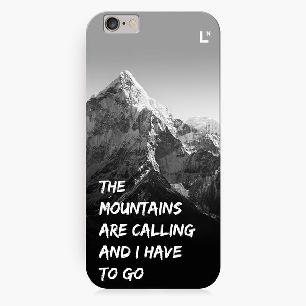 Mountains Are Calling iPhone 7/7 plus Cover