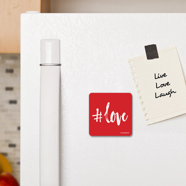 #Love - Fridge Magnet - LetterNote - 2