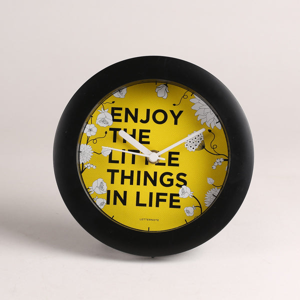 Enjoy the Little Things - Small Clock
