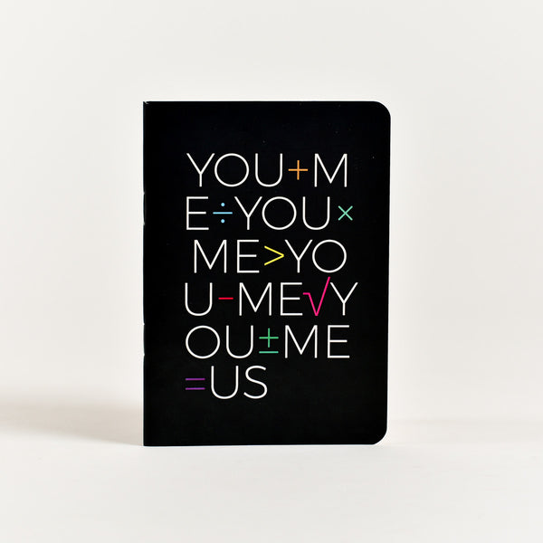 You + Me Pocket Notebook (A6 Size)